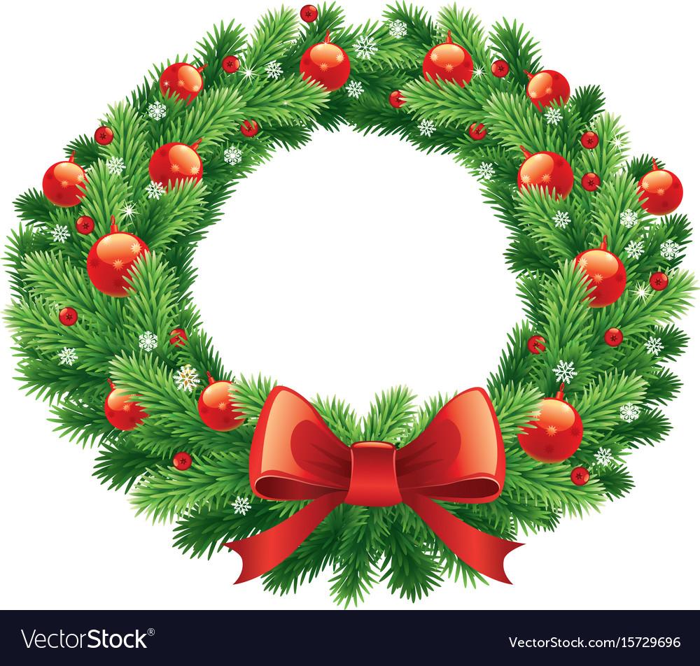 Advent and christmas wreath.