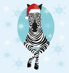 Zebra Christmas Vector Images (90).