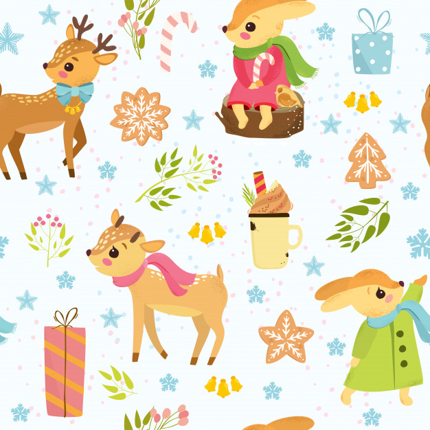 Christmas Pattern Vectors, Photos and PSD files.
