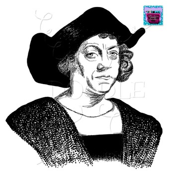 Christopher Columbus Clipart.