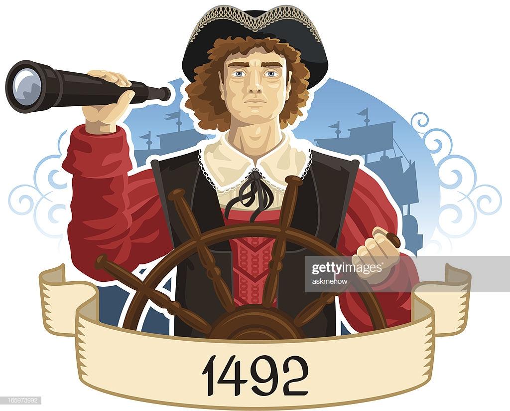60 Top Christopher Columbus Explorer Stock Illustrations, Clip art.