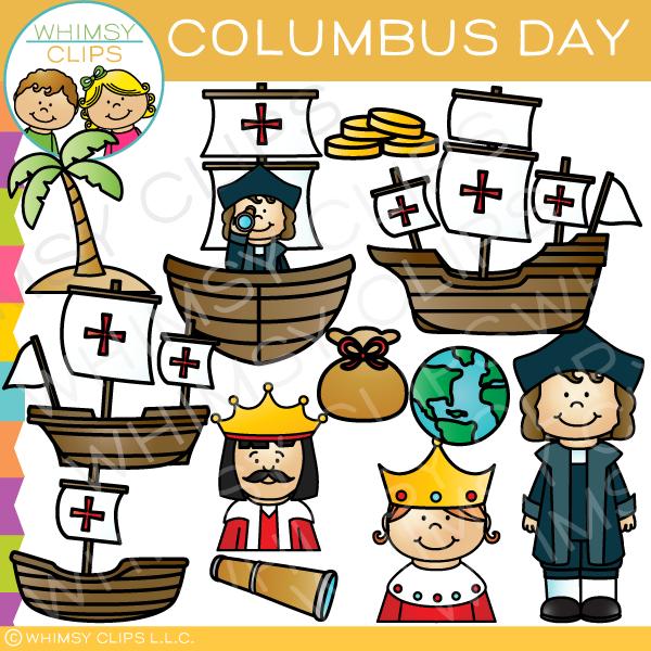 Christopher Columbus Clip Art.