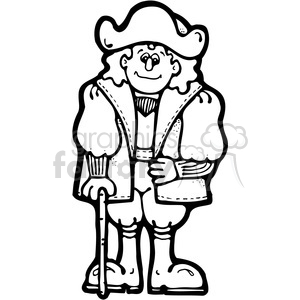 Christopher Columbus clipart. Royalty.