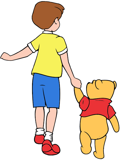 Christopher Robin and Friends Clip Art.