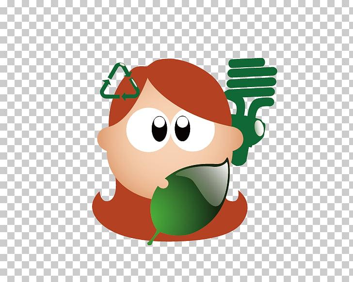 Chroma key Cartoon, Recycling PNG clipart.