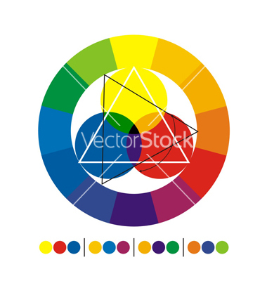 Chromatic circle vector by horeagrindean.