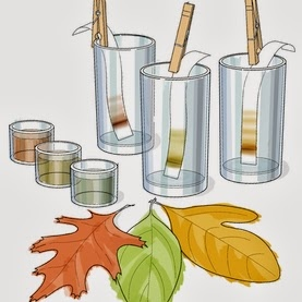 Chromatography clipart.