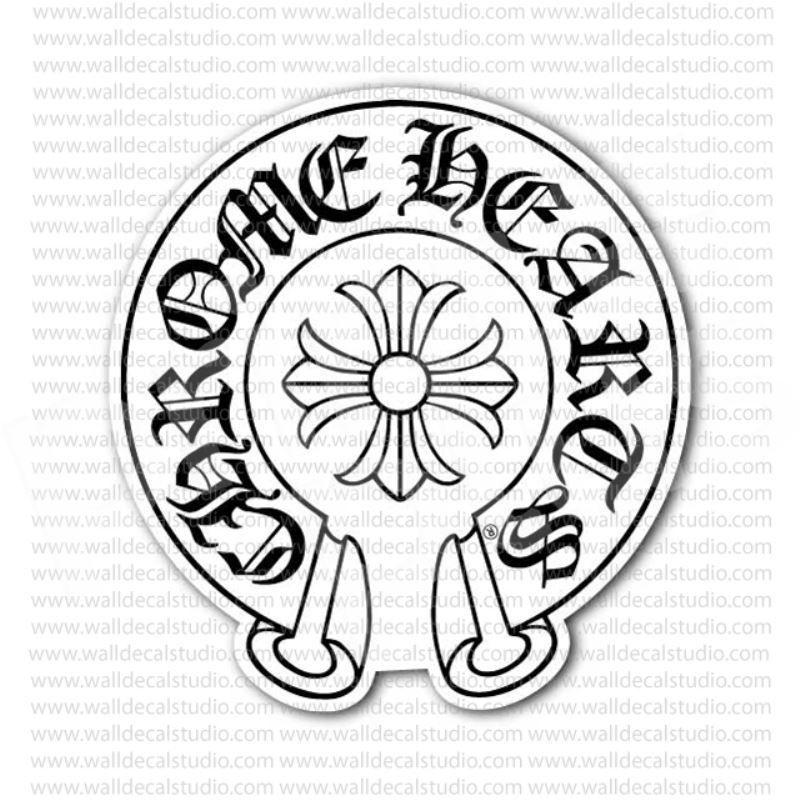 Chrome Hearts Emblem Sticker in 2019.