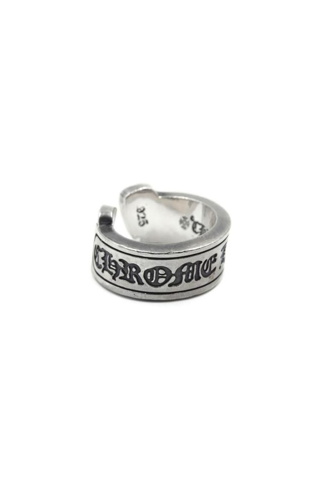 Chrome Hearts Sterling Silver Signature Logo Ring 81% off retail.