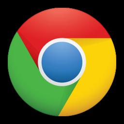 Google Chrome Icon.