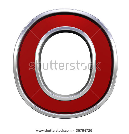 Red Chrome Letters Stock Photos, Royalty.