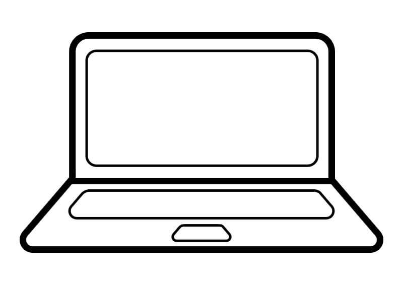 Laptop Clipart.