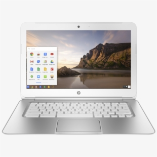 Pc Clipart Chrome Book.