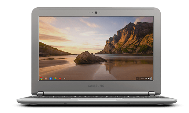 Samsung Chromebook Laptop transparent PNG.