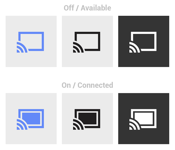 Google Updates Design Guidelines for Chromecast Icons.