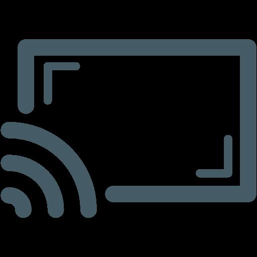 chromecast icon.