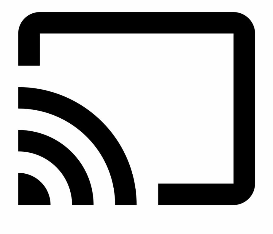 Chromecast Cast Button Icon.