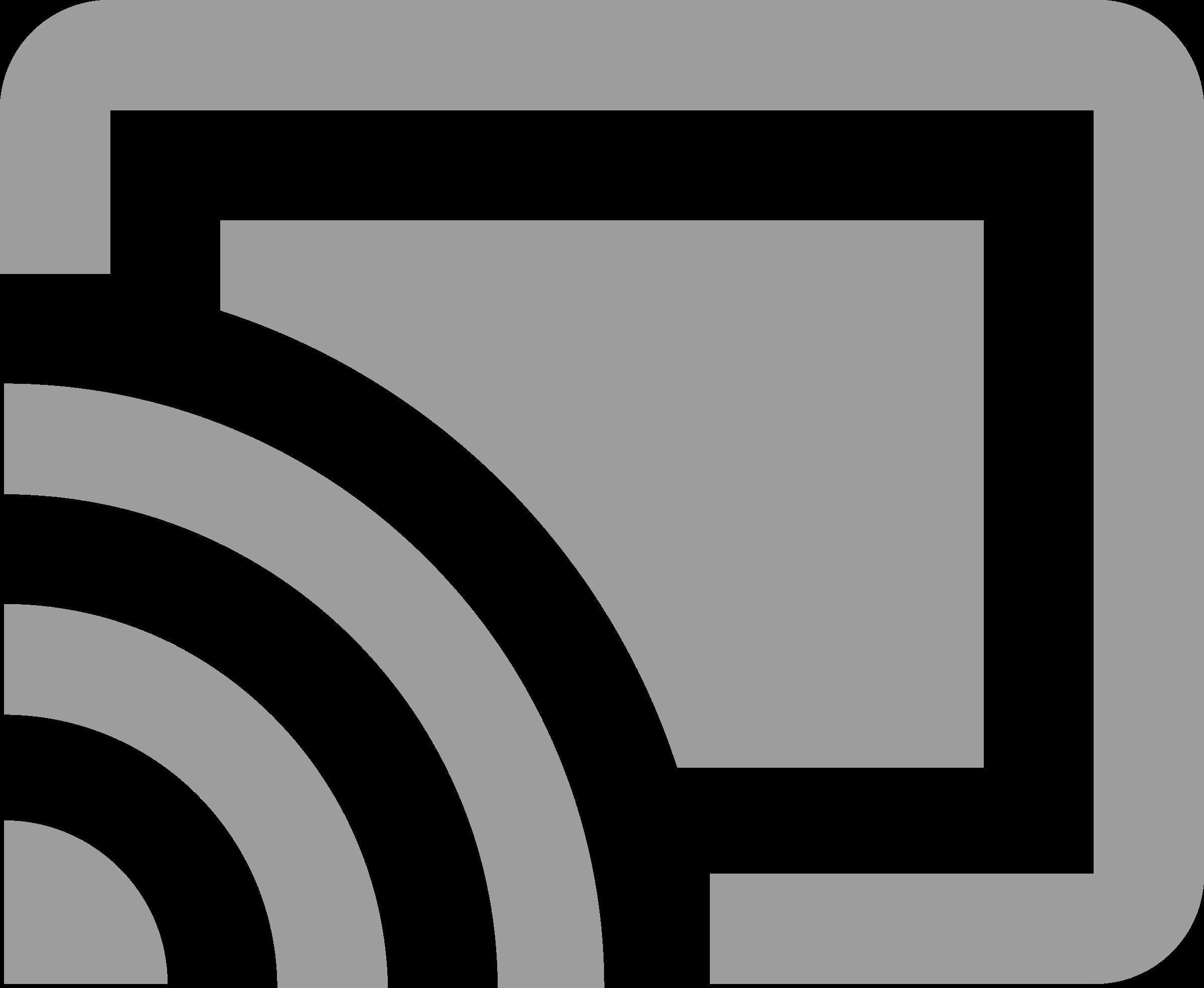 Cast icon Chromecast Logo PNG Transparent & SVG Vector.