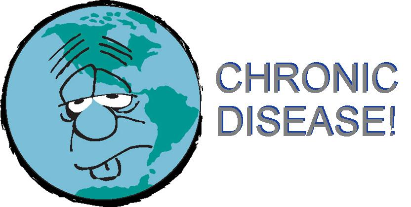 Chronic Diseases Clipart.