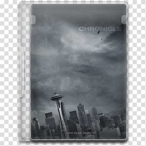 Movie Icon , Chronicle, Chronicle DVD case transparent.