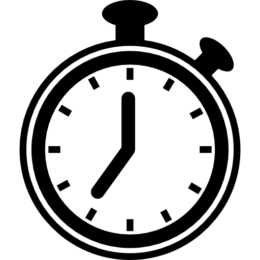 Timer or chronometer tool Icons.