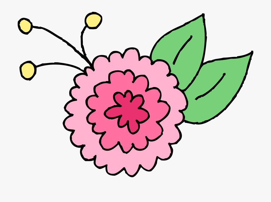 Cute Pink Chrysanthemum Flower.