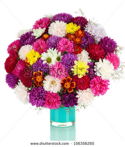 Bouquet Of Chrysanthemums Stock Photos, Royalty.