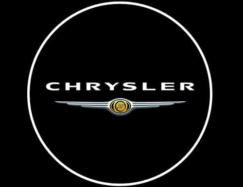 Chrysler LED Door Projector Courtesy Puddle Logo Lights.