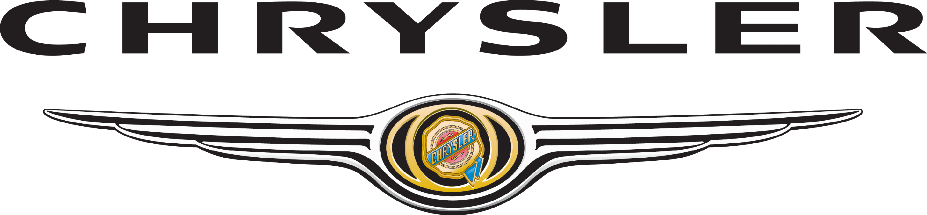 Chrysler 300 Logos.