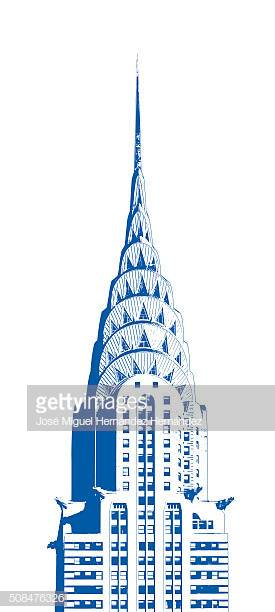 60 Top Chrysler Building Stock Illustrations, Clip art, Cartoons.