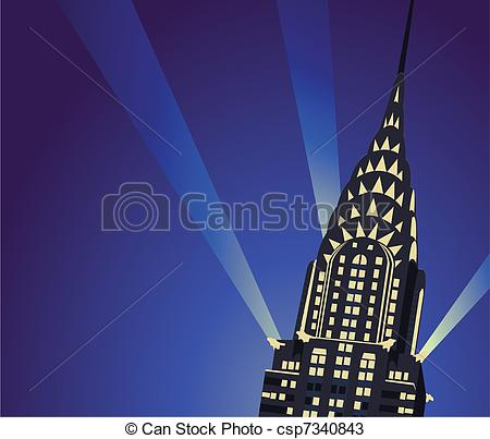 Chrysler building Illustrations and Clip Art. 63 Chrysler building.