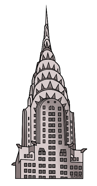 Chrysler Building Clipart.