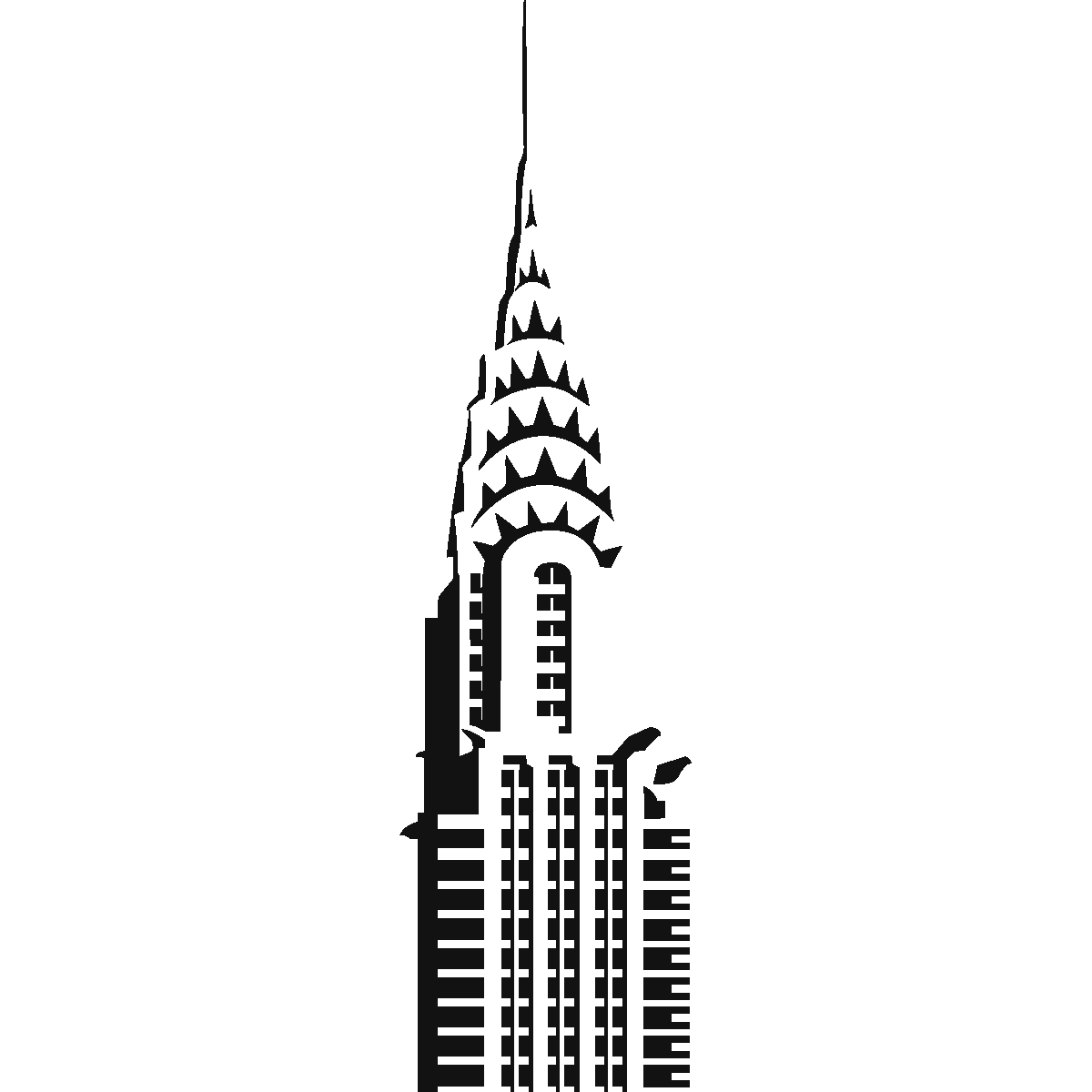 Chrysler Building Vector.