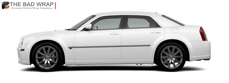 Chrysler 300 clipart.