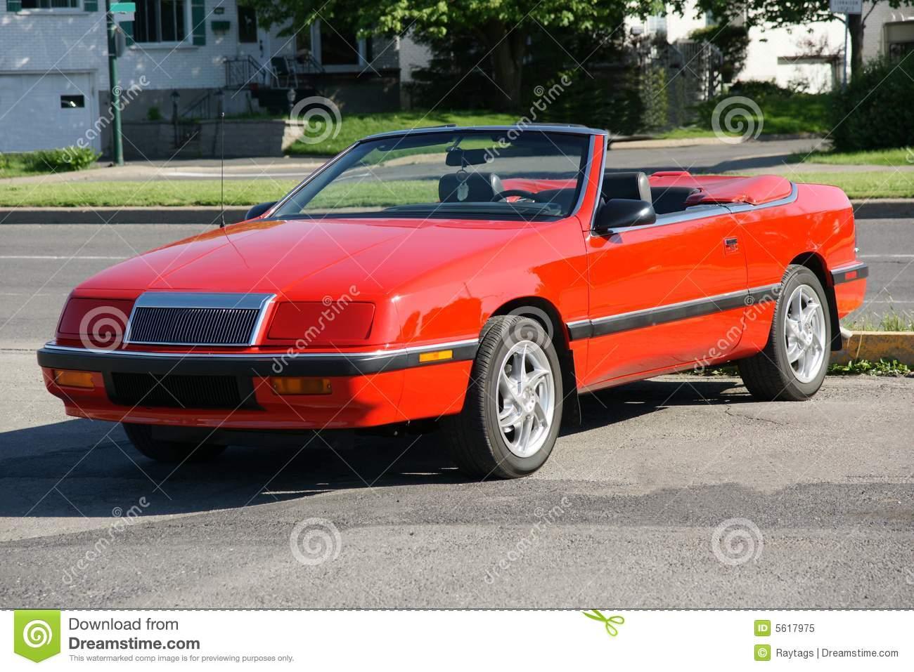 Chrysler Lebaron Convertible Royalty Free Stock Photo.