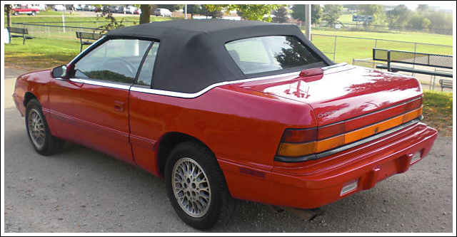 1990 chrysler lebaron convertible.