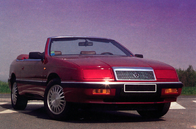 1990 chrysler lebaron convertible.