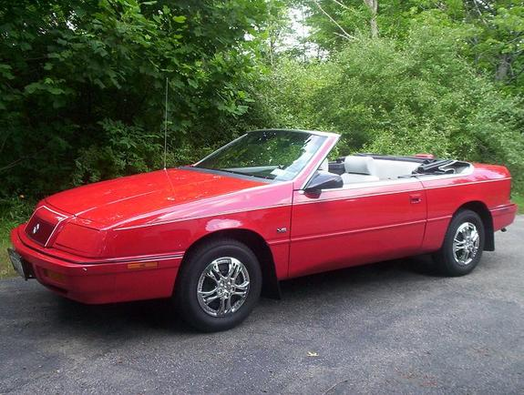 My new blog: 1995 Chrysler Lebaron Convertible Car.