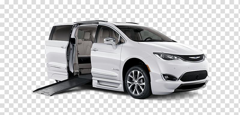 Bumper Minivan Chrysler Pacifica Car, car transparent.
