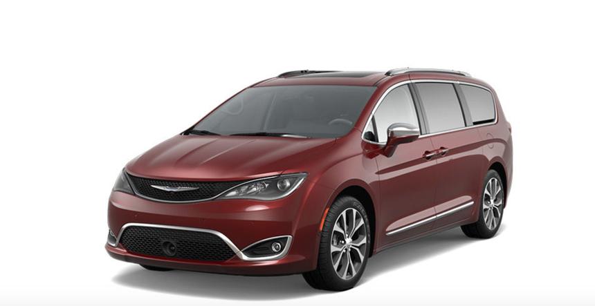Chrysler Pacifica plug.