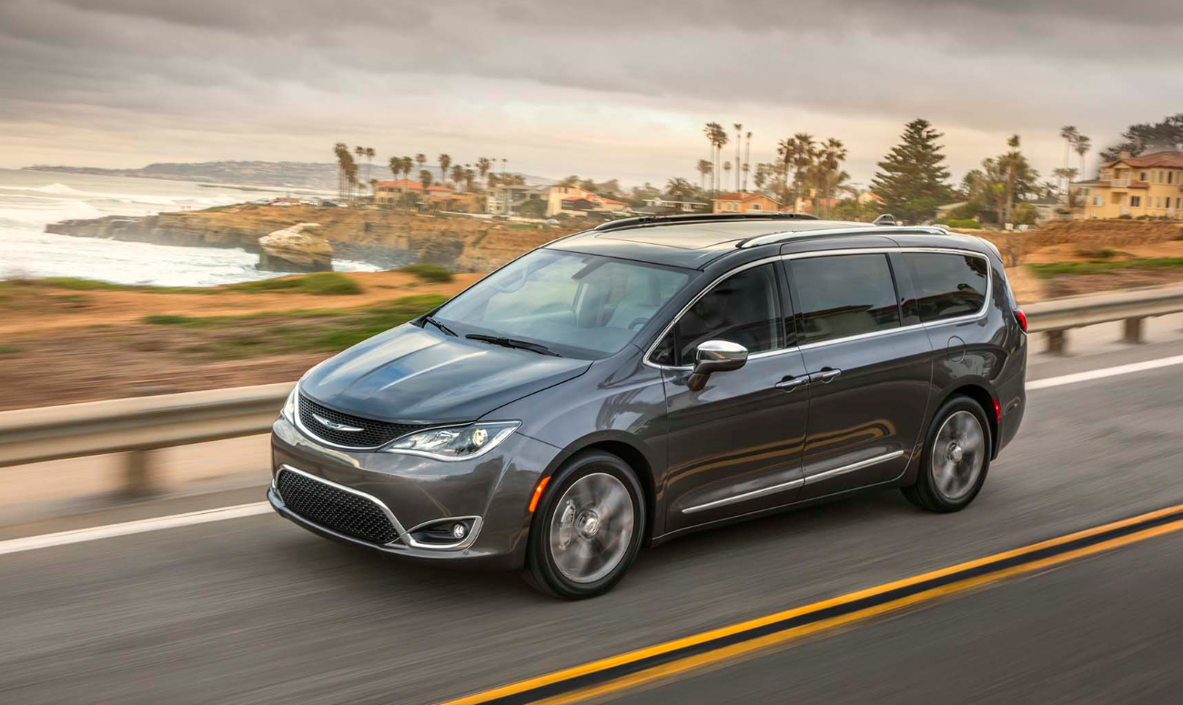 2019 Chrysler Pacifica Hybrid.