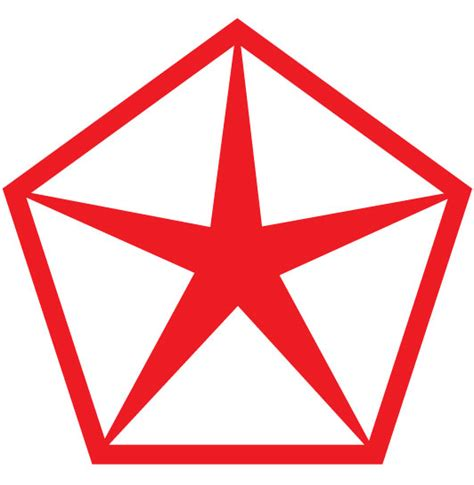 Chrysler pentastar Logos.