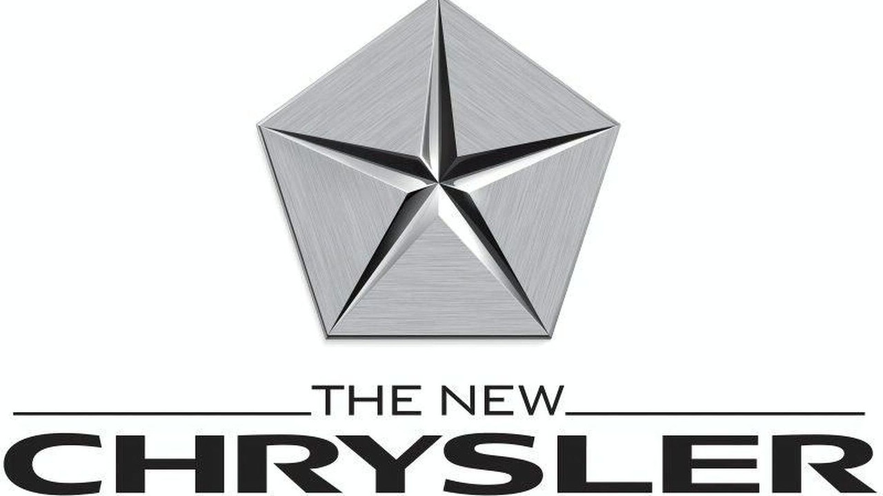 New Chrysler Pentastar logo.