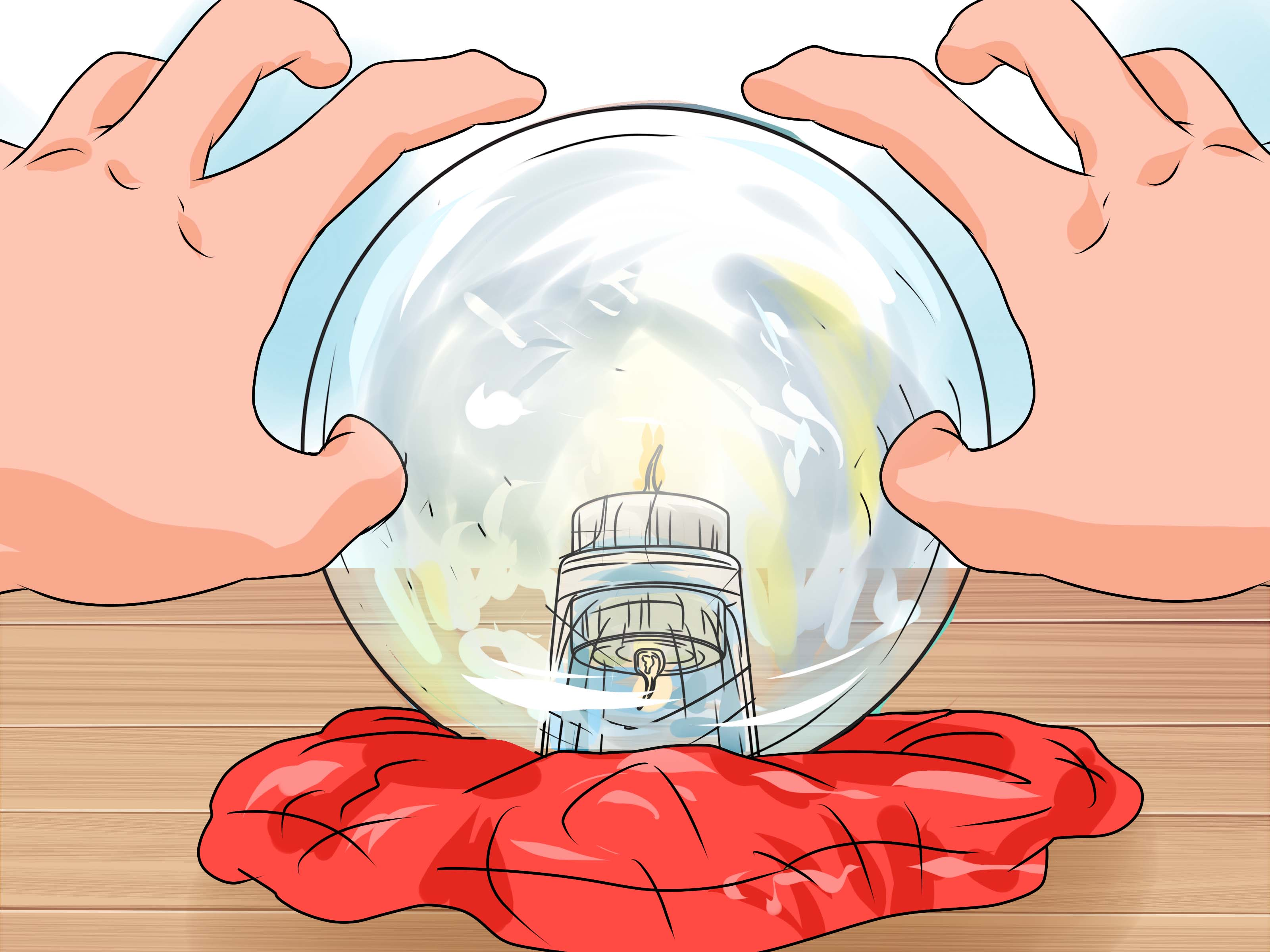 How to Make a Crystal Ball (with Pictures).