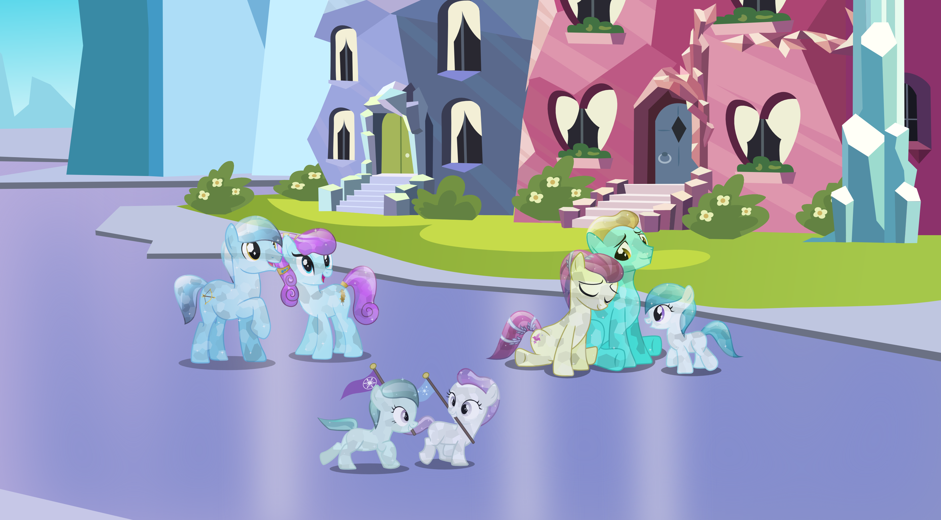 The Crystal empire by Vector.