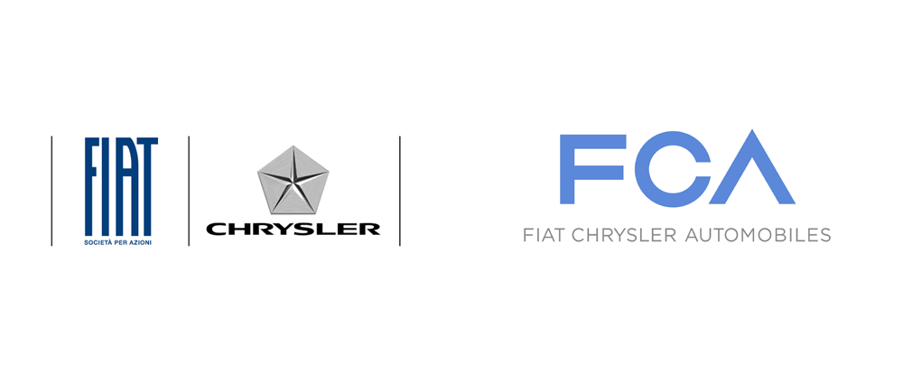 Brand New: New Logo for Fiat Chrysler Automobiles by.