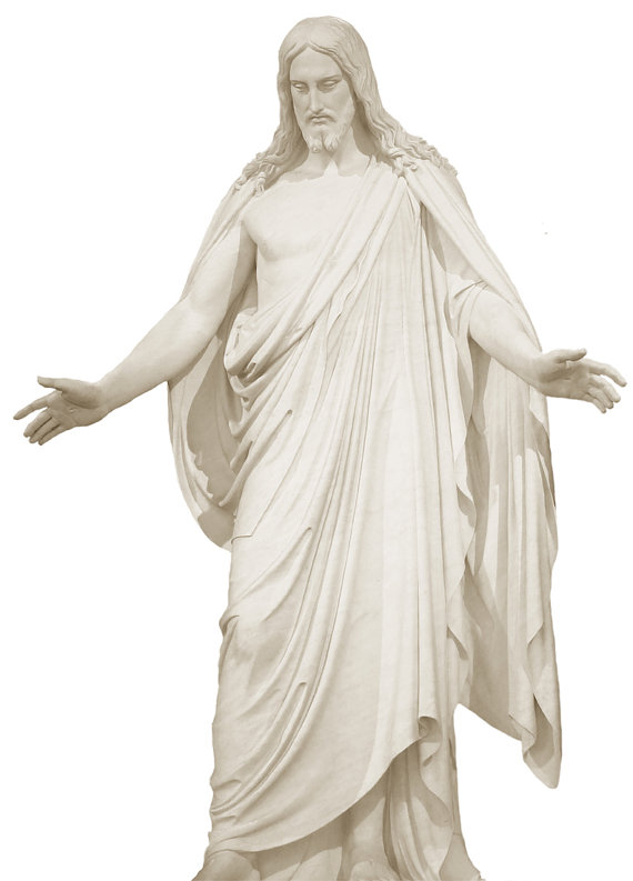 Items similar to LDS Christus photo for use as element in poster.