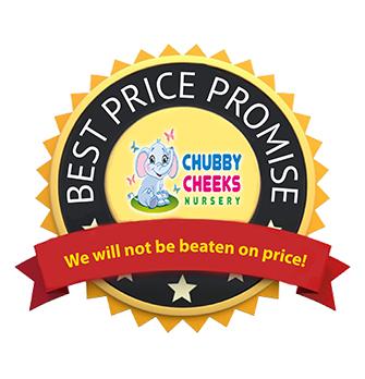 CCN Best Price Promise, ChubbyCheeksNursery.com.