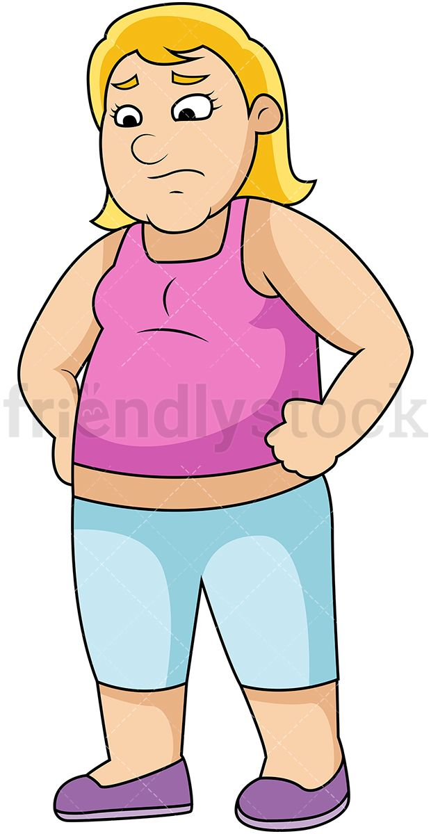 Pin on Overweight People Clipart.