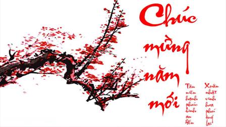 Chúc mừng năm mới Bính Thân.